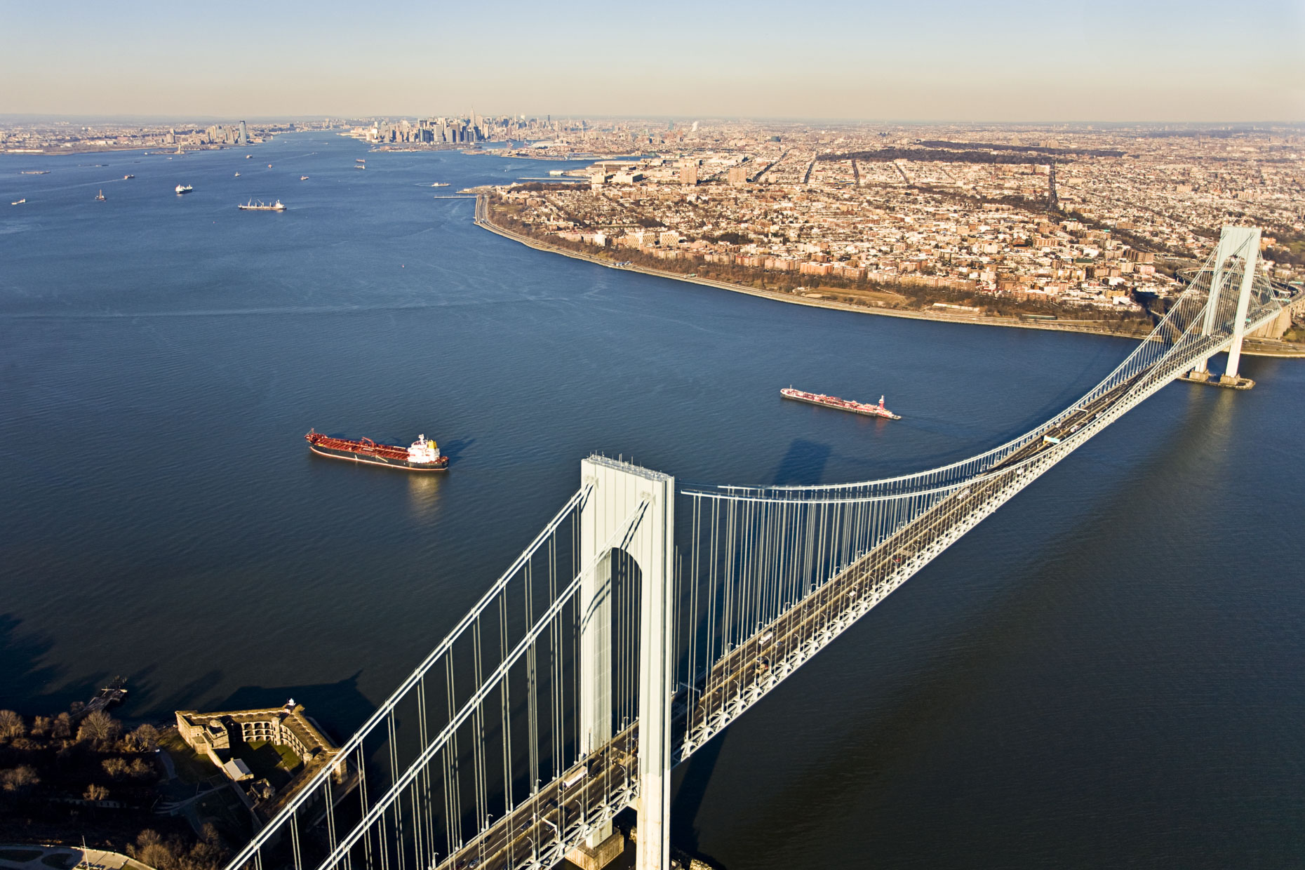Verrazano By Day